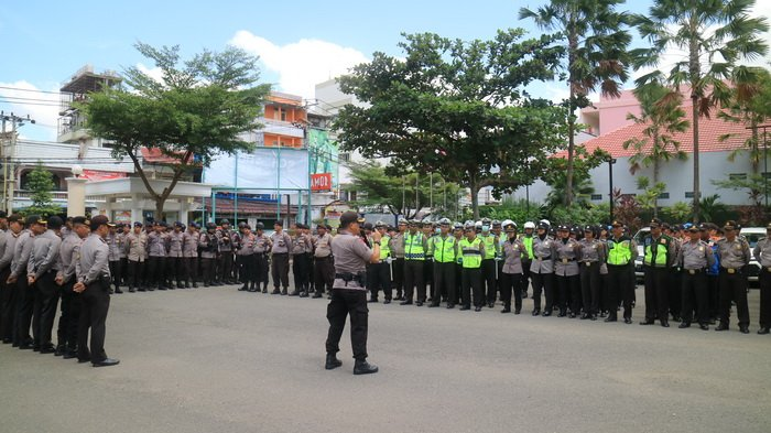 500 Aparat Keamanan Kawal Penetapan Cagub dan Cawagub Terpilih Kaltim 2018