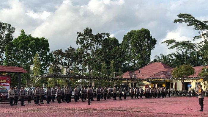 Menjelang Natal dan Tahun Baru, 250 Personel Polres Kutim Disiapkan Dalam Operasi Lilin