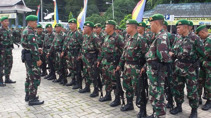 700 Prajurit TNI Dilepas untuk Jaga Perbatasan Selama 9 Bulan