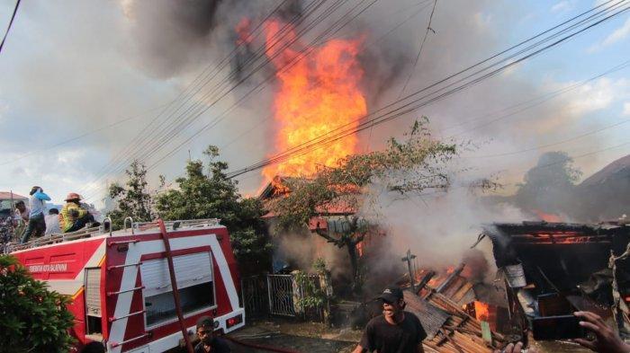 Dugaan Penyebab Kebakaran di RT 38 Baru Ulu Balikpapan, Warga Sebut dari Aktivitas Panggang Ikan