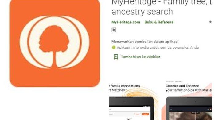 Viral, Aplikasi Foto Bergerak MyHeritage, Cek Cara ...