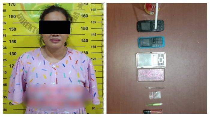 Kelabui Polisi Sembunyikan Sabu di Pakaian Dalam, Seorang Ibu Rumah Tangga Dibekuk Polres Bontang