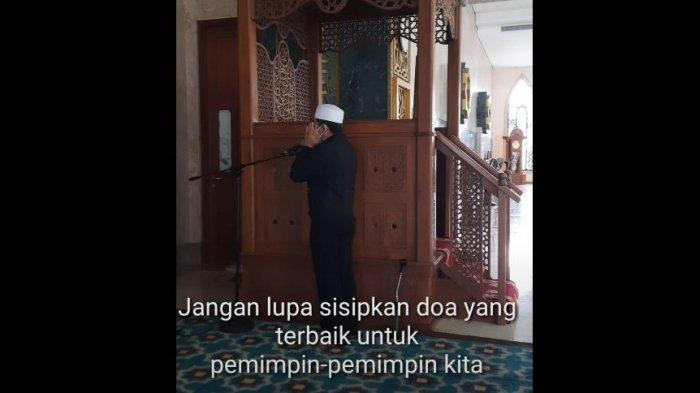 Video Pria Peci Putih sedang Kumandangkan Azan Jadi Perbincangan di Kutim, Ternyata Orang Penting
