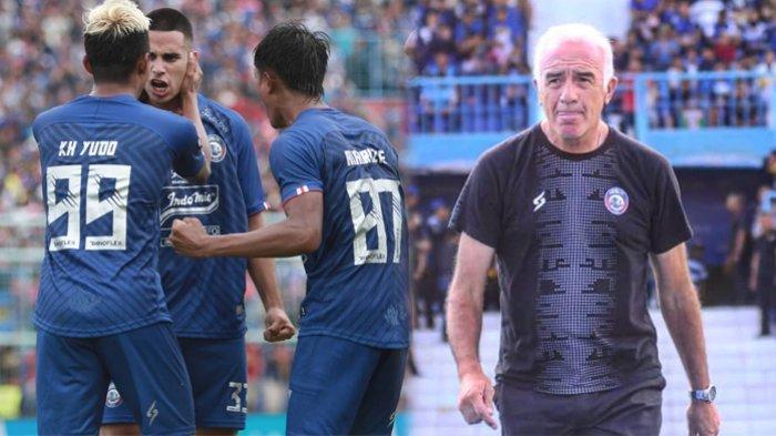 Dipermalukan di Hadapan Aremania, Mario Gomez Langsung Lakukan Ini Pada Skuad Arema FC