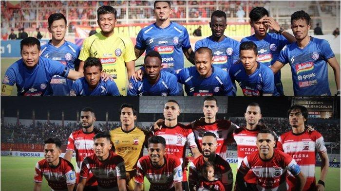 Ancaman Aremania Jelang Derby Jatim Arema FC vs Madura United di Liga 1 2019