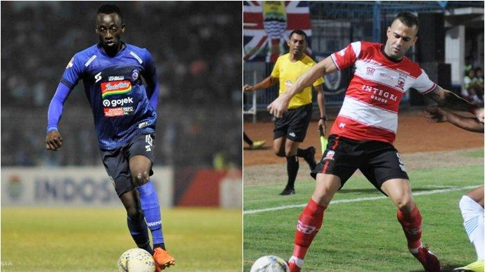 Live Streaming TV Online Arema FC vs Madura United, Duel Panas Derby Jatim, tayang di Vidio.com