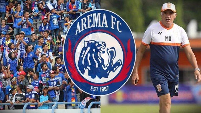 Arema FC Buru 1 Pemain Asing, Ezechiel NDouassel atau Pemain Terbaik Liga 1 2019 Pilihan Mario Gomez