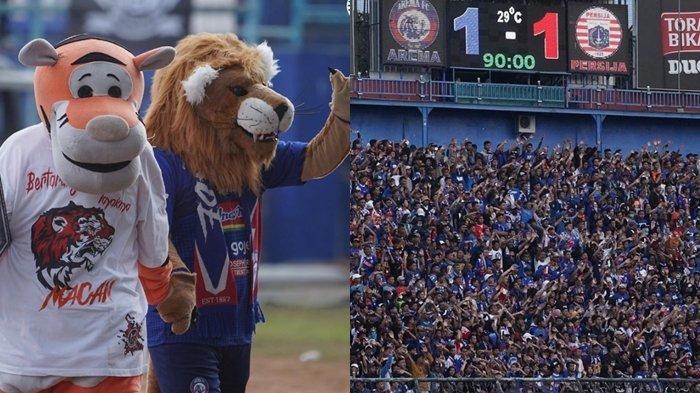 Aremania & The Jak Mania Kompak Bikin Arema FC dan Persija Disanksi Komdis PSSI, Ini Sebabnya