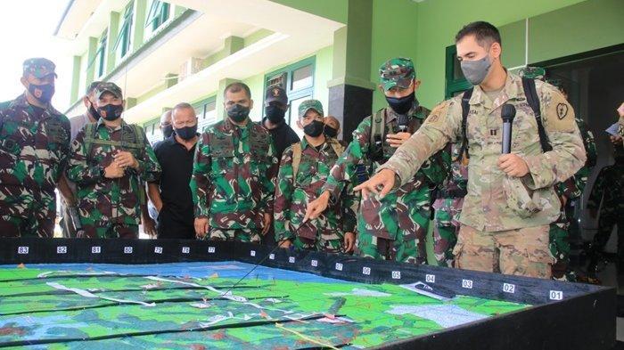 Latihan Garuda Shield-15/2021 Digelar Agustus, Kodam VI/Mlw bersama tim US Army Kembali Tinjau Medan