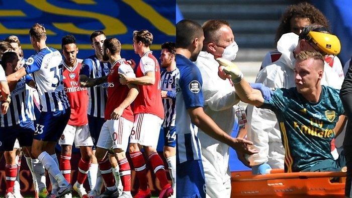 Hasil Liga Inggris, Arsenal Ketiban Sial di Kandang Brighton, Bern Leno Jadi Tumbal Neal Maupay