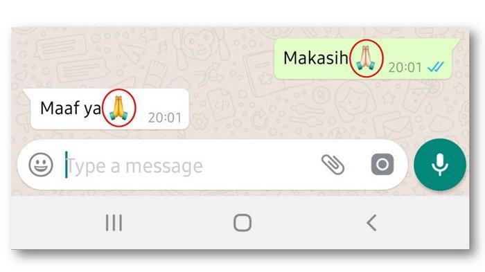 Arti Emoji Dua Tangan Menyatu, High Five, Terima Kasih atau Maaf? Ini Penjelasannya