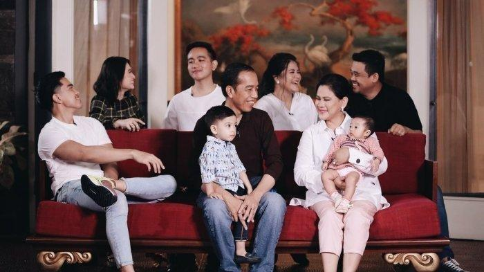 Arti Unik Nama para Cucu Jokowi Jan Ethes dan Sedah Mirah, Siapa Nama Anak Kedua Gibran Rakabuming?