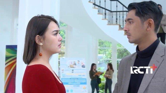 Arya Saloka dan Amanda Manopo di salah satu episode Ikatan Cinta, malam ini Minggu 4 Juli 2021 sinetron Ikatan Cinta akan mengisahkan aldebaran yang gagal mendapatkan bukti pembunuhan Roy