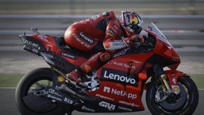 Jadwal MotoGP Hari ini, Hasil FP1 dan FP2 MotoGP Doha 2021, Ducati Mendominasi, Rossi Tak Terlihat