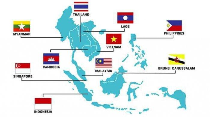 SEBUTKAN Lima Negara Pendiri ASEAN? Cek Jawaban, Fakta Unik dan Julukan10 Negara Anggota ASEAN