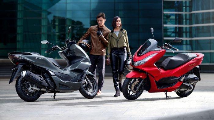 Beli Motor PCX160 Saat Pameran di Mal e-Walk Balikpapan, Beri Promo Hadiah Langsung Handphone
