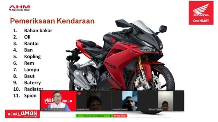 Sebarkan Virus #cari_AMAN, Astra Motor Kaltim 1 Beri Edukasi Safety Riding ke Pelajar SMK Balikpapan