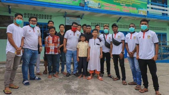 Persiba Balikpapan Berbagi Kebahagiaan di Bulan Ramadhan, Doakan Bisa Naik Kasta Liga 1