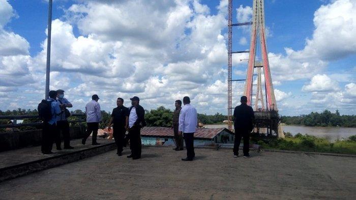 Sebelum Meninjau Jembatan ATJ di Melak, KPK Layangkan Surat Pemberitahuan ke Pemkab Kutai Barat