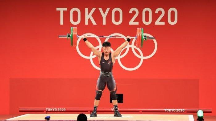 Tambah Perolehan Medali untuk Indonesia di Olimpiade Tokyo, Rahmat Erwin Wujudkan Mimpi sang Ayah