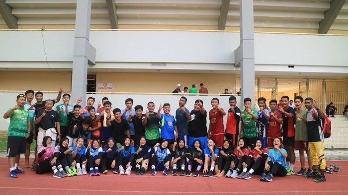 Atlet Bola Tangan Kaltim Bagas Tirta Prakoso Jalani 13 Materi Latihan Tiap Hari