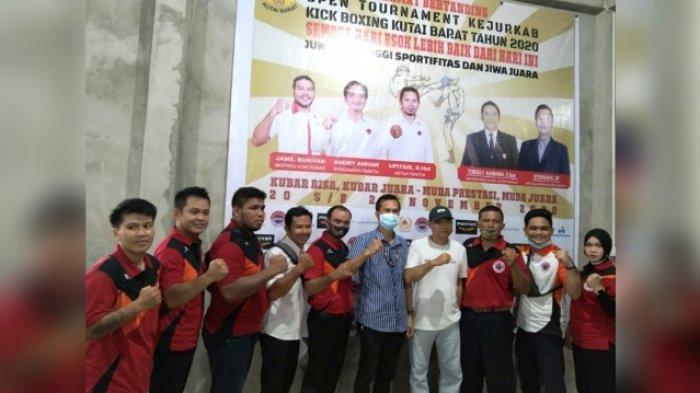 Cabor Kick Boxing Diminati Banyak Pemuda, Kejurkab 2020 Ditutup Ketua KONI Kubar