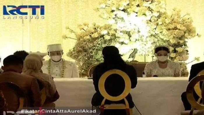 Foto-foto Mewahnya Pernikahan Atta Halilintar dan Aurel, Ada Jokowi, Prabowo, hingga Ketua MPR