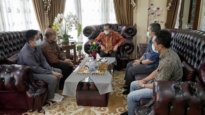 Manajemen PLN UIP Kalbagtim Audiensi dengan Wagub Kaltim, Wawali Samarinda dan Kakantah Samarinda