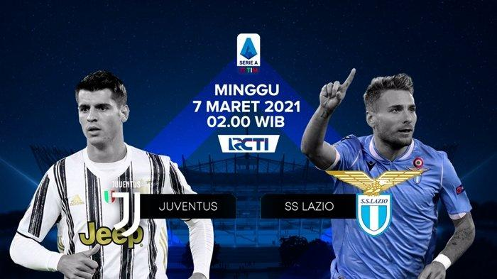 SERU Link Live Streaming RCTI Liga Italia, Juventus vs Lazio Malam Ini, Tonton dari Ponsel Gratis