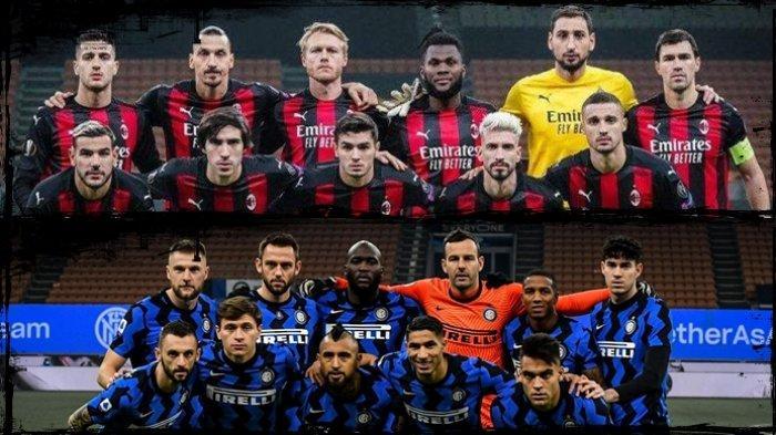 GRATIS Link Streaming RCTI Liga Italia, AC Milan vs Inter Milan Malam Ini, Tonton dari Ponsel