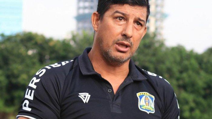 Arsitek Persiba Balikpapan Angel Alfredo Vera Bertekad Naik Kasta ke Liga 1
