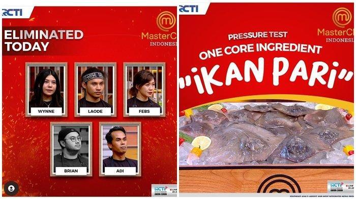 MasterChef Indonesia Season 8 Tadi Malam, Brian Tereliminasi karena Ikan Pari, Top 10 Makin Ketat