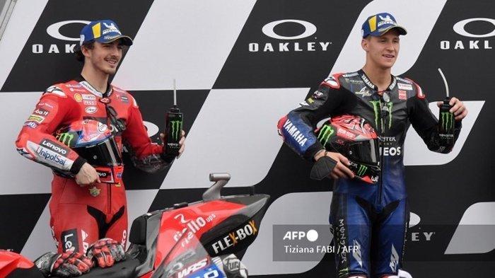 Quartararo Tetap Juara Dunia MotoGP 2021 Walaupun Bagnaia Sapu Bersih Kemenangan, Ini Syaratnya
