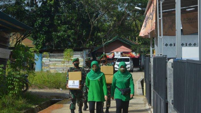 Sambut HUT ke 63 Kodam VI/Mulawarman, Berbagi Sembako dan Bersihkan TMP Dwikora Tarakan