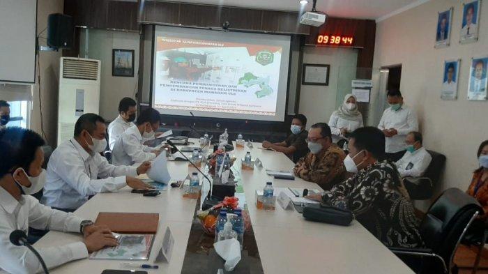 Tingkatkan Layanan Listrik di Kabupaten Mahulu, Bupati Bonifasius Temui Manajemen PLN Kaltimtara