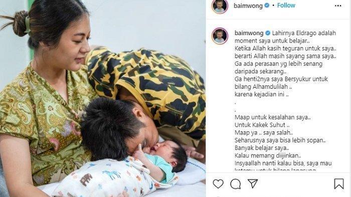 TERKUAK Anak Kedua jadi Alasan Baim Wong Minta Maaf ke Kakek Suhud, Kronologi Lengkap Sebelum Viral