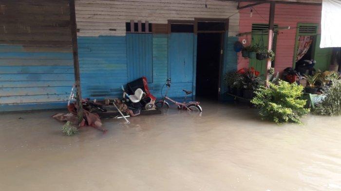Hujan Deras Guyur Berau, Delapan Rumah Banjir, 2 Februari 3 Rumah Belum Bisa Ditinggali Lantaran Ini