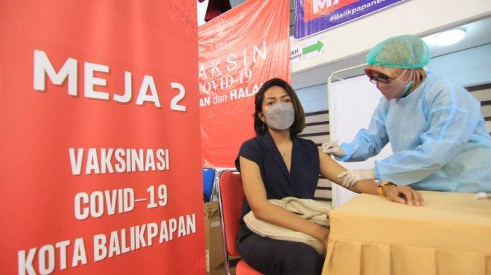 Kebut Capaian Vaksin Corona, Satgas Covid-19 Balikpapan Targetkan 50 Persen Pekan Ini