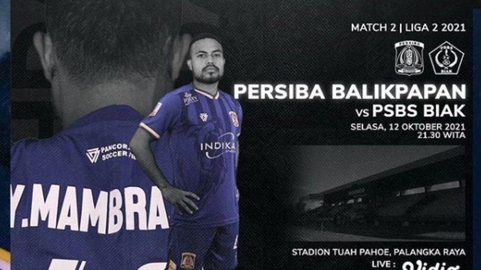 Jadwal Liga 2 Malam Ini: Persis Solo Lakoni Derby Mataram, Persiba Balikpapan Tak Ingin Kalah Lagi