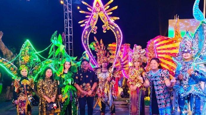 Luar Biasa, Gunakan Bahan Lokal Ini, Kubar Berhasil Sabet Juara I Balikpapan Fashion Carnival