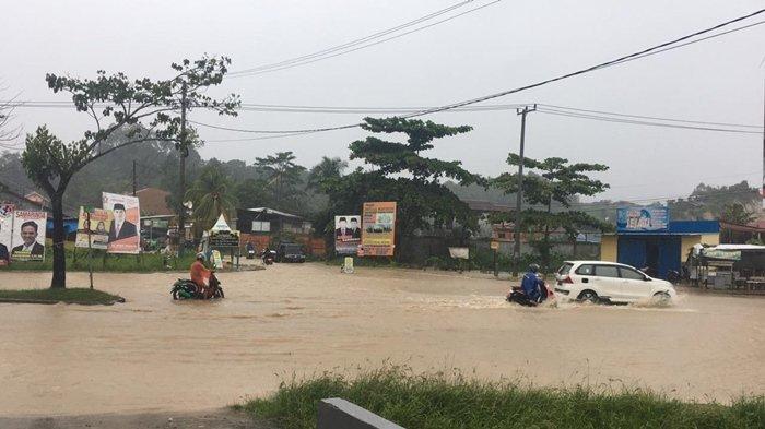 BREAKING NEWS Hujan Deras Guyur Samarinda, Waduk Benanga Masih Status Siaga, Banjir di 3 Kecamatan