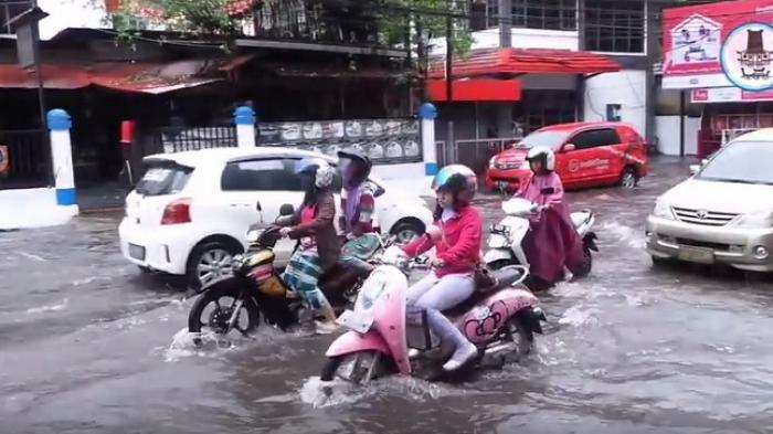 Genangan Air Kepung Banjarmasin, Wali Kota: Perlu 100 Tahun Benahi Kanal