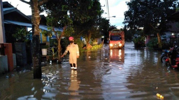 Intensitas Hujan Tinggi, Beberapa Wilayah di Bontang Dikepung Banjir