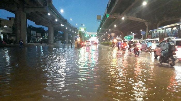 Update Titik Banjir di Jakarta Hari Ini, BMKG Umumkan Potensi Hujan Lebat di Ibu Kota dan Bogor