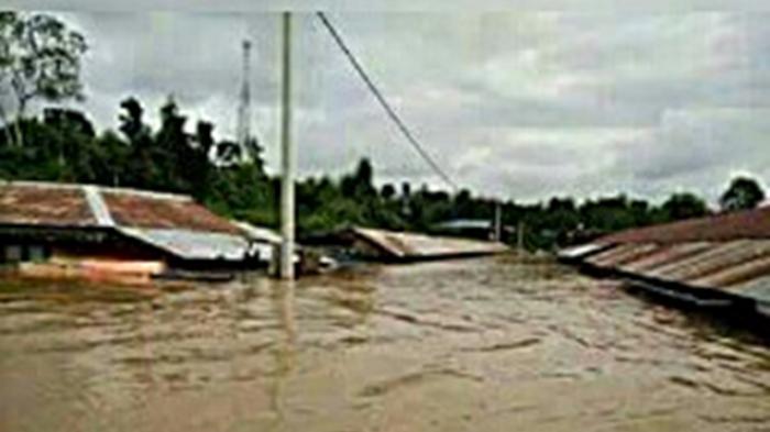 Banjir Bandang, Sedikitnya 300 Rumah Tenggelam