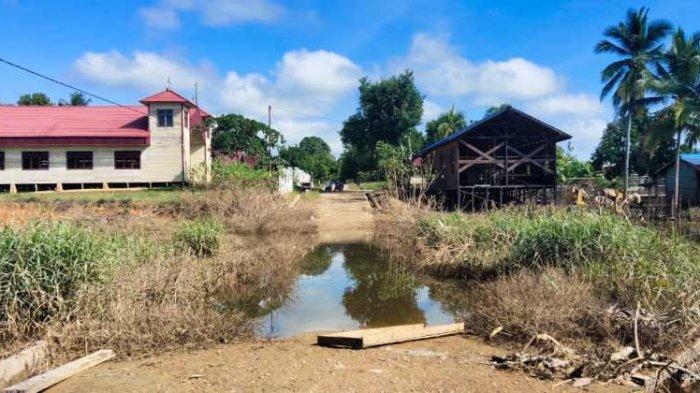 Air Sudah Surut, Warga Kecamatan Telen Kutai Timur Khawatir Banjir Susulan