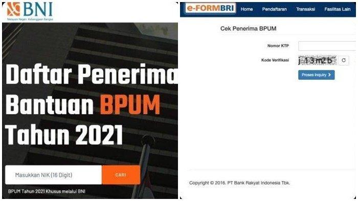 Banpres BPUM, Nama Penerima BLT UMKM BNI dan BRI Rp 1,2 ...