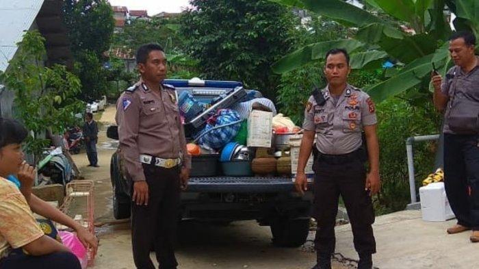 Longsor di Karang Anyer Samarinda Dua Rumah Rusak Berat, Satu Rumah Bergeser