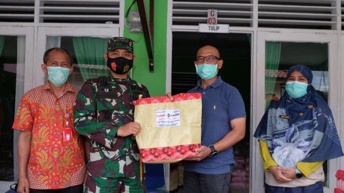 Pupuk Kaltim Bantu Ribuan Paket Sembako untuk Warga yang Menjalani Isolasi Mandiri di Bontang