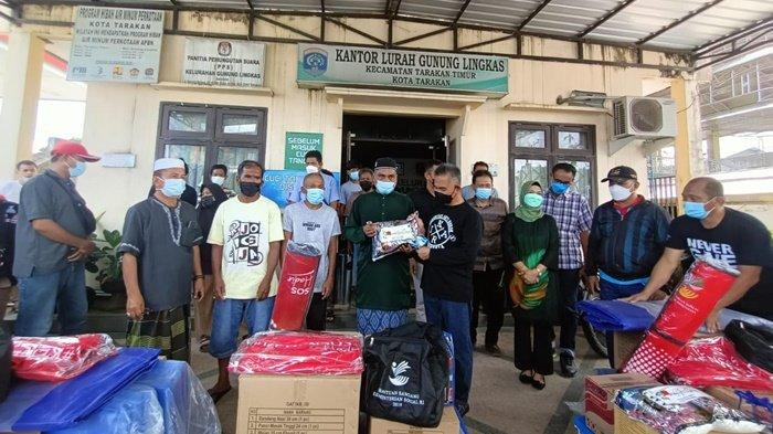 Pemkot Tarakan Beri Uang Tunai untuk Korban Kebakaran Gn Likas, Walikota Usulkan Dana Rehab ke Pusat